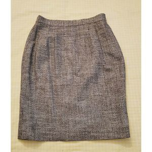 DONCASTER Knee Length Pencil Skirt 100% Silk